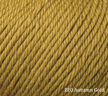 Load image into Gallery viewer, A close up of Rowan Alpaca Soft DK in 220 Autumn Gold