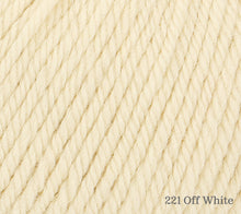 Load image into Gallery viewer, A close up of Rowan Alpaca Soft DK in 221 Off White