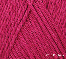 Load image into Gallery viewer, A close up of Rowan Baby CashSoft Merino in 0116 Fuchsia