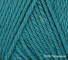 Load image into Gallery viewer, A close up of Rowan Baby CashSoft Merino in 0118 Turquoise