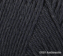 Load image into Gallery viewer, A close up of Rowan Baby CashSoft Merino in 0120 Anthracite