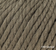 Load image into Gallery viewer, A close up of Rowan Big Wool in 083 Cactus