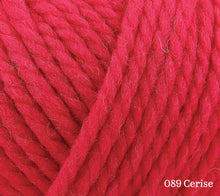 Load image into Gallery viewer, A close up of Rowan Big Wool in 089 Cerise