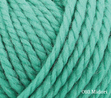 Load image into Gallery viewer, A close up of Rowan Big Wool in 093 Midori