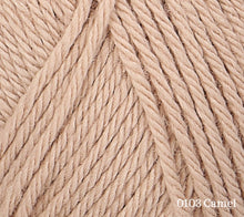 Load image into Gallery viewer, A close up of Rowan Baby CashSoft Merino in 0103 Camel