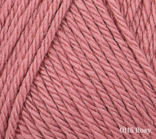Load image into Gallery viewer, A close up of Rowan Baby CashSoft Merino in 0115 Rosy