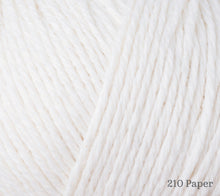 Load image into Gallery viewer, A close up of Rowan Cotton Cashmere in 210 Paper