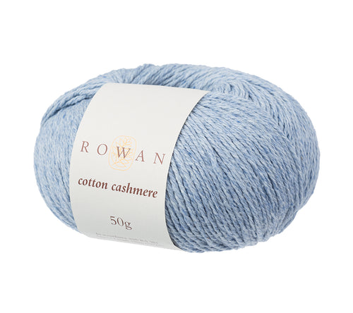 A ball of Rowan Cotton Cashmere