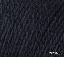 Load image into Gallery viewer, A close up of Rowan Cotton Glace in 727 Black