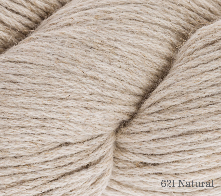 A close up of Rowan Creative Linen in 621 Natural