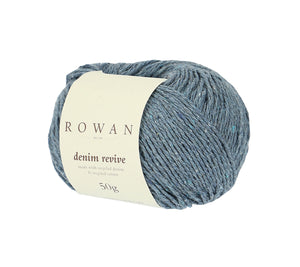 A ball of Rowan Denim Revive