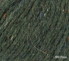 Load image into Gallery viewer, A close up of Rowan Felted Tweed Aran in 782 Pine