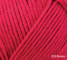 Load image into Gallery viewer, A close up of Rowan Handknit Cotton in 215 Rosso