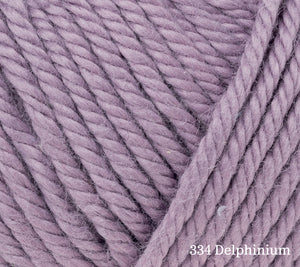 A close up of Rowan Handknit Cotton in 334 Delphinium