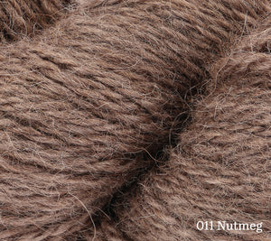A close up of Rowan Moordale in 011 Nutmeg