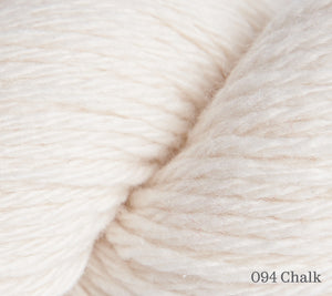 A close up of Rowan Pure Cashmere in 094 Chalk