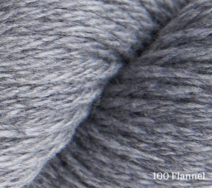 A close up of Rowan Pure Cashmere in 100 Flannel