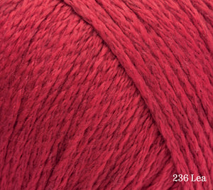 A close up of Rowan Soft Yak DK in 236 Lea