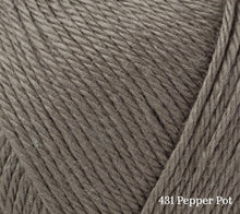 Load image into Gallery viewer, A close up of Rowan Summerlite 4ply in 431 Pepper Pot