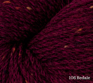 A close up of Rowan Valley Tweed in 106 Bedale