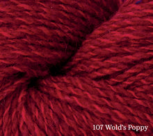 Load image into Gallery viewer, A close up of Rowan Valley Tweed in 107 Wold's Poppy