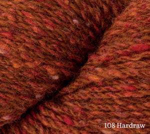 A close up of Rowan Valley Tweed in 108 Hardraw