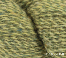 Load image into Gallery viewer, A close up of Rowan Valley Tweed in 115 Dodd Fell
