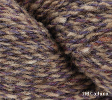 Load image into Gallery viewer, A close up of Rowan Valley Tweed in 116 Calluna