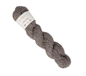 A skein of Rowan Valley Tweed