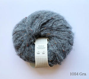 A ball of Sandnes Garn Tweed in 1054 Gra