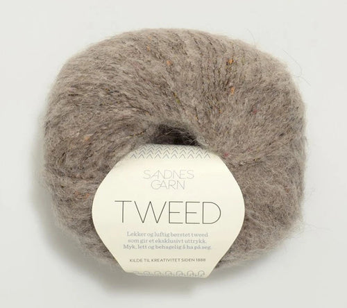 A ball of Sandnes Garn Tweed