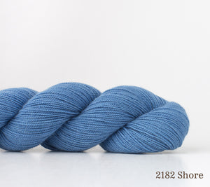 A skein of Shibui Cima in 2182 Shore