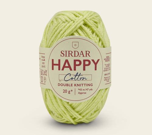 A ball of Sirdar Happy Cotton