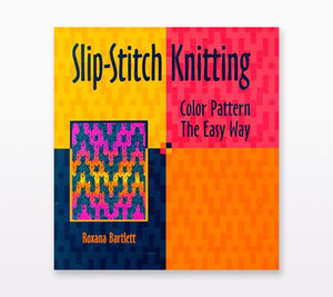 The book cover of Slip Stitch Knitting