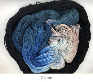 Stephanie's Stacked Colour Cowl kit in Grace
