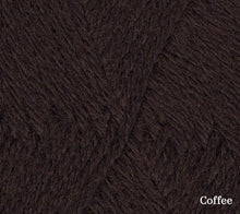 Load image into Gallery viewer, A close up of Teenie Weenie Wool in Coffee