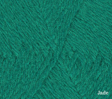 Load image into Gallery viewer, A close up of Teenie Weenie Wool in Jade