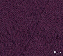 Load image into Gallery viewer, A close up of Teenie Weenie Wool in Plum