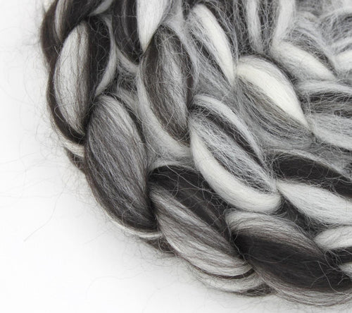 The Fibre Imp Baby Alpaca Roving Braid