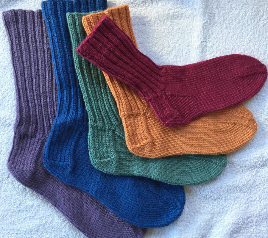 Top Down Socks with Ann Budd