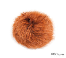 Load image into Gallery viewer, A 10 centimetre Wild Wild Wool Faux Fur Pom-Pom in 015 Fawn