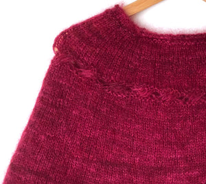A close up of a Whisper Popover sample
