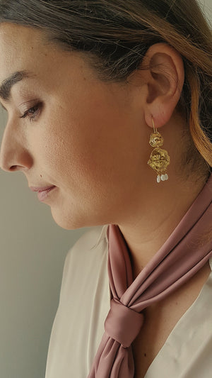 ELISABETTA PEARL EARRINGS