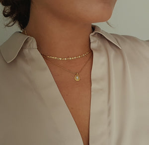 LEONOR DIAMOND NECKLACE