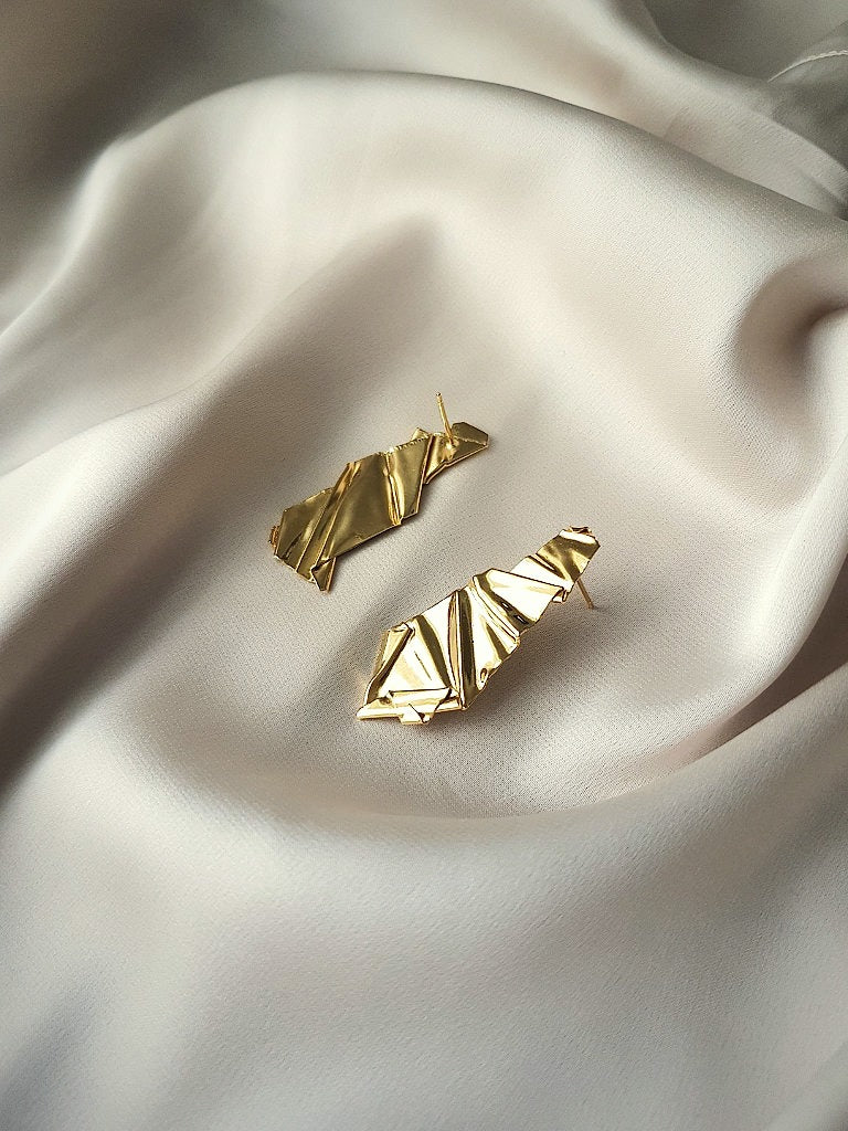 MELTED STATEMENT EARRINGS