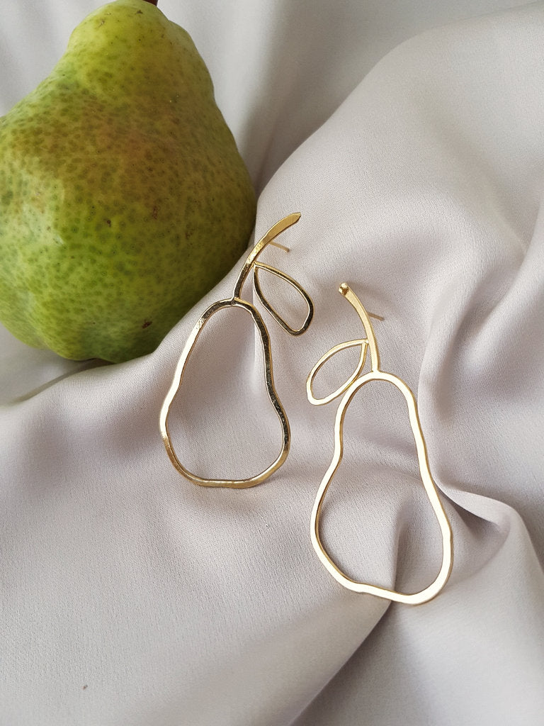 IF LIFE GIVES YOU PEARS EARRINGS