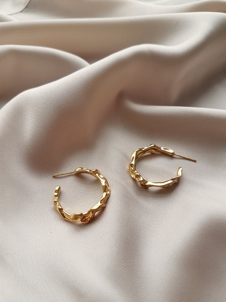 MELTED II HOOP EARRINGS