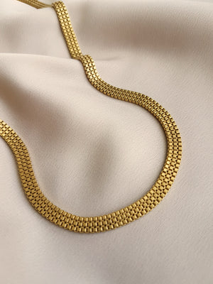 THE FLAT CHAIN CHOKER