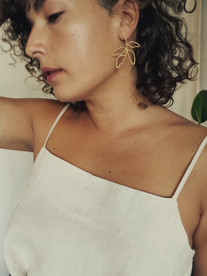 LES FEUILLES EARRINGS