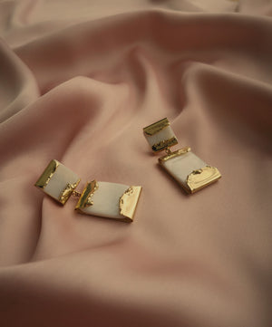 LUISA MOTHER OF PEARL EARRINGS
